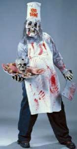 Halloween costumes butcher chef