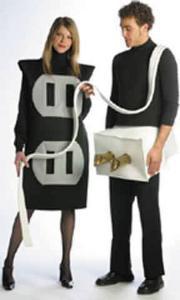 Halloween costumes plug in