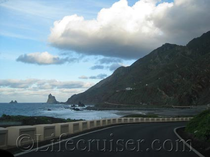View of Almaciga area by the sea, Tenerife North, Photo by Lifecruiser