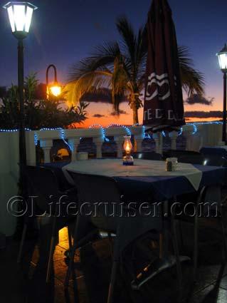 Restaurant Neptuno, Playa de la Arena, Tenerife by Lifecruiser