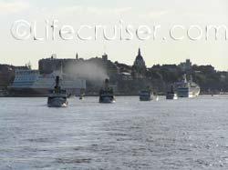 Steamship parade