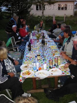 Birthday BBQ Party at the farm, Fårö island, Gotland, Sweden, Copyright Lifecruiser.com