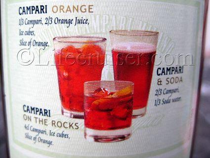 Campari Drink recipes, Fårö Island, Gotland, Sweden, Photo Copyright Lifecruiser.com