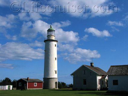 Fårö Lighthouse, Fårö island, Gotland, Sweden, Copyright Lifecruiser.com