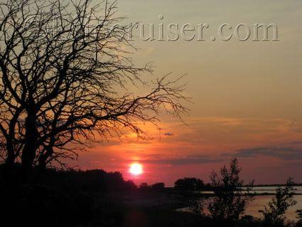Sunset at Ekeviken, Fårö island, Gotland, Sweden, Copyright Lifecruiser.com