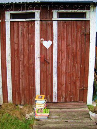 Door Number Two at  Fårö island, Gotland, Sweden, Copyright Lifecruiser.com