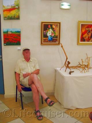 French Art Exhibition, France, Copyright Lifecruiser.com