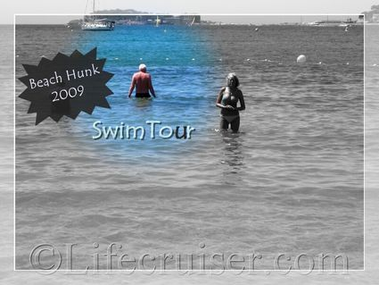 Bandol beach hunk Tor, Provence, France, Copyright Lifecruiser.com
