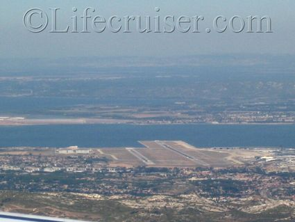 Marseille Provence Airport runway, France, Copyright Lifecruiser.com