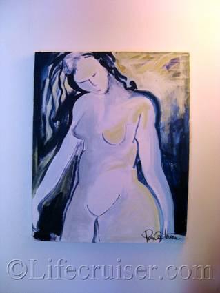 Pierres painting, France, Copyright Lifecruiser.com