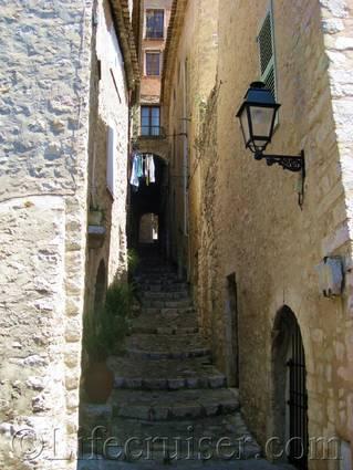 Saint Paul de Vence alley, France