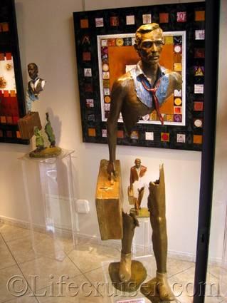 Saint Paul de Vence art object, France