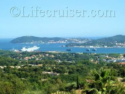 View over Toulon port, France, Copyright Lifecruiser.com