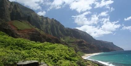 Kauai Island, Na Pali coast, Hawaii