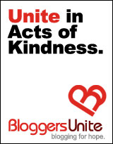 Bloggers Unite Act of Kindness Badge