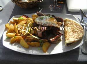 Lifecruisers brunch meal 2