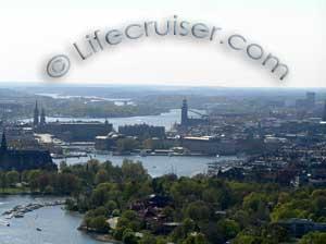 Lifecruisers Stockholm city view