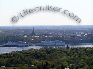 Lifecruisers Stockholm city cruise schip view