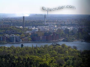 Lifecruisers Stockholm city south view