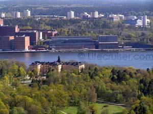 Lifecruisers Stockholm, Djurgården views of Manilla school