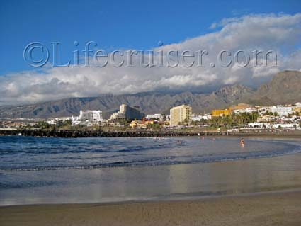 Las Americas Beach Bay, Tenerife Island, Photo by Lifecruiser