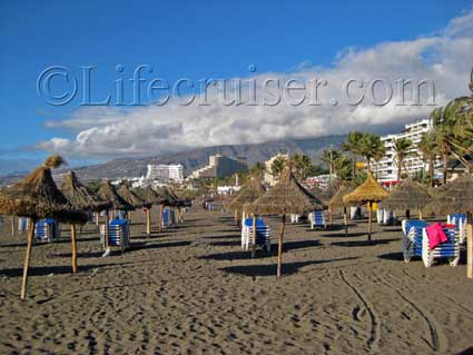 Las Americas Beach, Tenerife Island, Photo by Lifecruiser