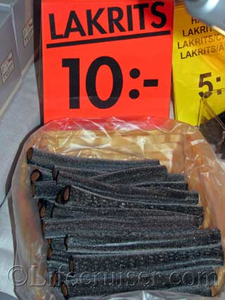 Ryfors licorice from the licorice festival, Sweden, Photo by Lifecruiser