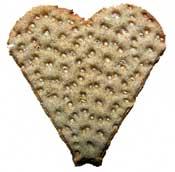 Lifecruisers heartshaped crispbread