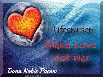 Lifecruiser Blogblast for Peace Globe