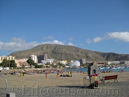 Los Cristianos Beach, Tenerife Island by Lifecruiser
