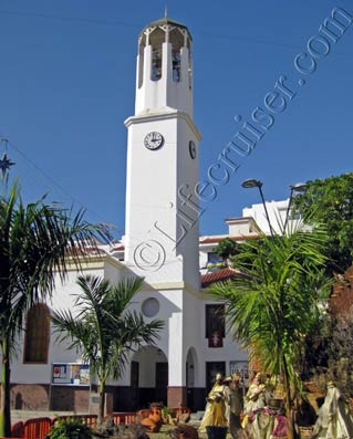 Los Cristianos Church, Tenerife by Lifecruiser