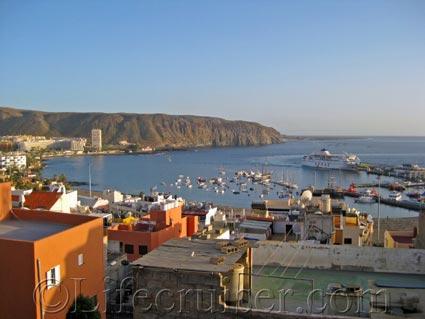 Los Cristianos port, Tenerife Island by Lifecruiser