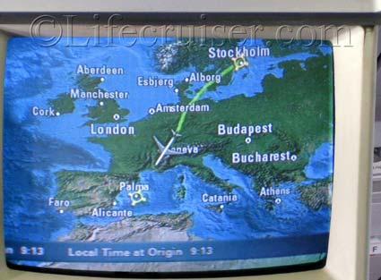 Flight route Stockholm - Palma, Photo by Lifecruiser