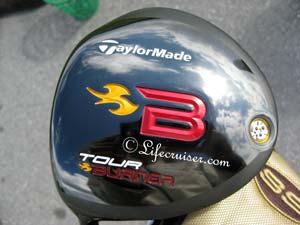 Mr Lifecruisers reflection golfclub head TaylorMade Tour Burner