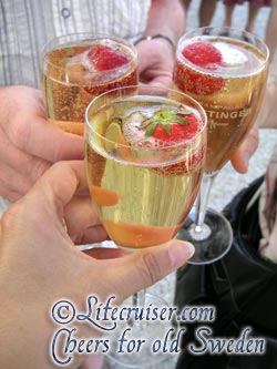 Lifecruisers toast for Sweden, National Day