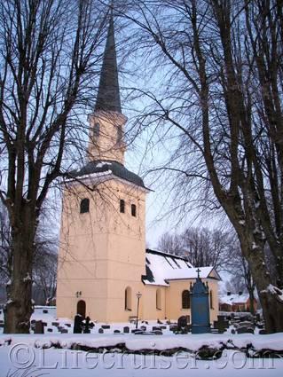 Ekerö Church,  Stockholm, Sweden, Copyright Lifecruiser.com