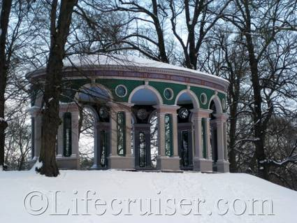 The Echo Temple, Hagaparken, Solna, Sweden, Copyright Lifecruiser.com