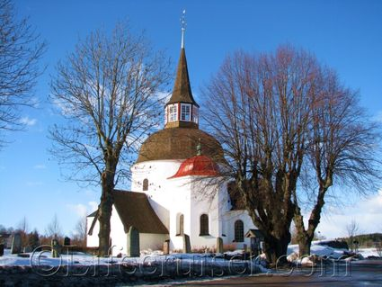 Munsö Church,  Stockholm, Sweden, Copyright Lifecruiser.com