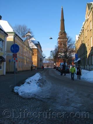 Cathedral Västerås, Sweden, Copyright Lifecruiser.com