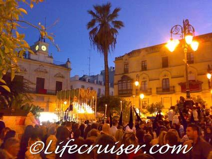 Spanish Easter celebration: Semana Santa in Sanlúcar, Photo by Lifecruiser