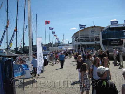 Volvo Ocean Race Village, Stockholm, Photo Copyright Lifecruiser.com
