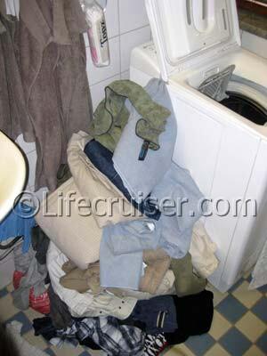 Lifecruiser travel aftermath - laundry
