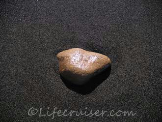Lifecruiser worrying stone fell from heart