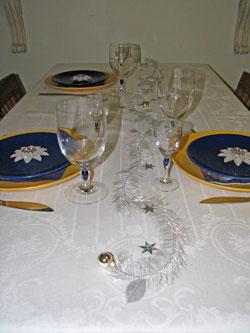 Lifecruisers Christmas table 2007