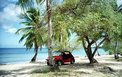Barbados mini-moke