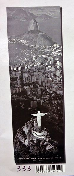Rio Christ Redentor poster