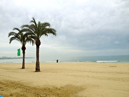 Spain, Alicante: Postiguet Beach