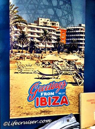 Ibiza (Spain) vintage poster in Stockholm, Sweden