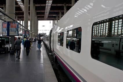 Spain: Madrid train