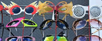 Estonia, Tallinn: Crazy sunglasses shopping